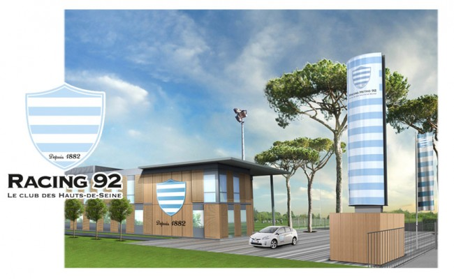 Le Plessis Robinson Racing 92 rugby training center
