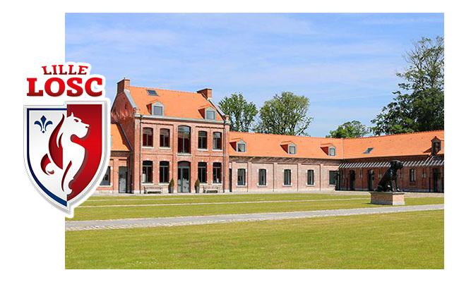 Centre d'entrainement du LOSC LILLE – Domaine de Luchin